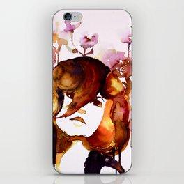 Flowered iPhone Skin