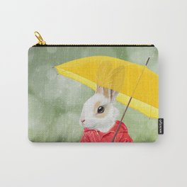 It's raining, little bunny! Carry-All Pouch