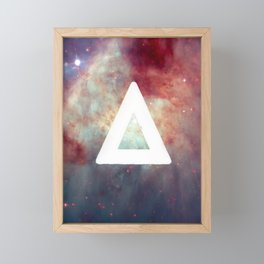 Bastille Galaxy Triangle Framed Mini Art Print