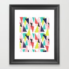 Paper Play Framed Art Print
