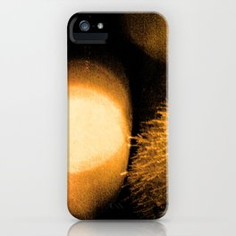 Dark Night Amber iPhone Case