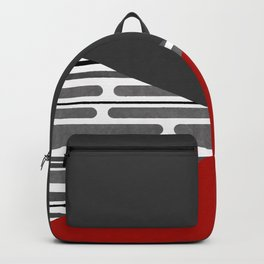 Simple patchwork Backpack