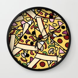 Pizza Heaven Wall Clock
