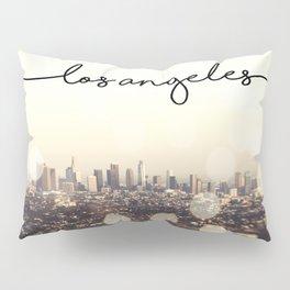 California, Los Angeles, beach, seaside, ocean, surf, downtown, Cali, SoCal, west coast, sky, summer Pillow Sham