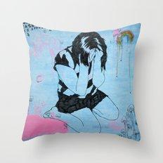 29 Blue Throw Pillow