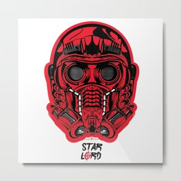Protector of the Galaxy Metal Print