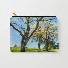 Under the Dogwoods Carry-All Pouch
