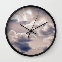 clouds Wall Clock