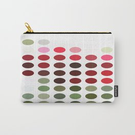 Red Rose with Light 1 Dots Carry-All Pouch