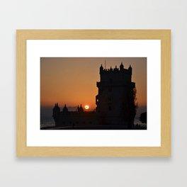 Belem Framed Art Print
