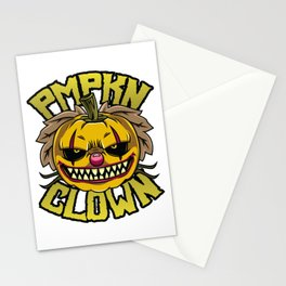 Pumpkin Clown Stationery Cards