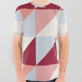 Trio (maroon) All Over Graphic Tee