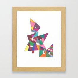 Kumba Framed Art Print