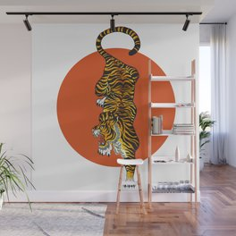 The Traditional Tiger Wall Mural