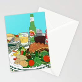 Scottish Beef Steak & Guinness Pie Stationery Cards