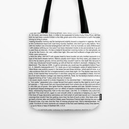 """Infinite Jest"" Computer Generated Fanfic Text Tote Bag"