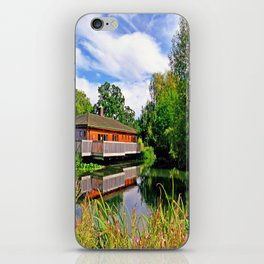 Lakeside Reflections iPhone Skin