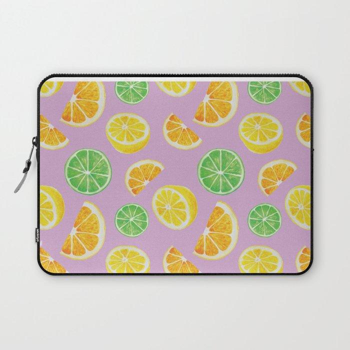 Citrus Pattern Laptop Sleeve
