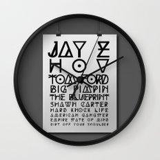 Eye Test - JAY Z Wall Clock