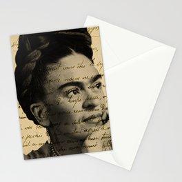 Letter Frida Kahlo Stationery Cards