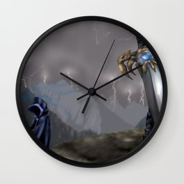Rising Prophecy Wall Clock