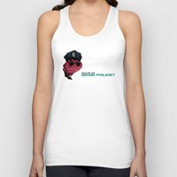 zappa Tank Tops featuring Who are the Brain Police? by holaf
