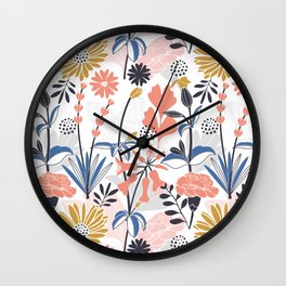 Mama Rosa Garden Wall Clock