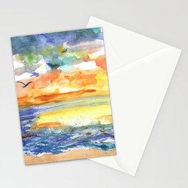 Playful Sea Stationery Cards