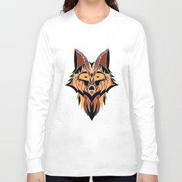 Abstract Fox Long Sleeve T-shirt