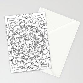 Flower Mandala Design #2 Stationery Cards