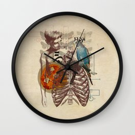 The Specious Present #5 Wall Clock
