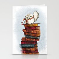 hedwig Stationery Cards featuring Hedwig by Sam Skyler