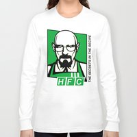 cook Long Sleeve T-shirts featuring The Cook by Ferguccio