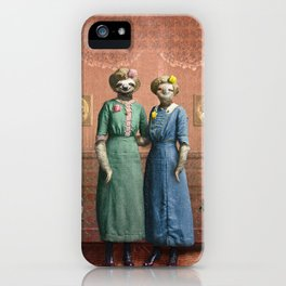 The Sloth Sisters at Home iPhone Case
