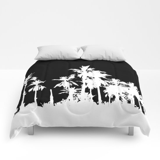 Date Palm Trees 2 Comforters