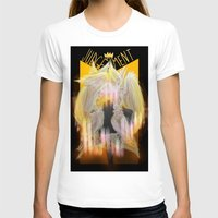tarot T-shirts featuring Judgement Tarot by Jess Clapper