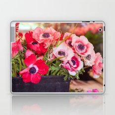 Anemones  and Bumblebee 5946 Laptop & iPad Skin