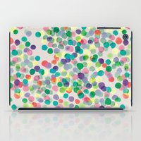 dots iPad Cases featuring Dots by moniquilla