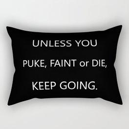 Keep Going Rectangular Pillow
