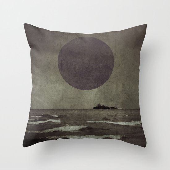 Purple storm Throw Pillow