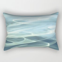 Water abstract H2O # 22 Rectangular Pillow