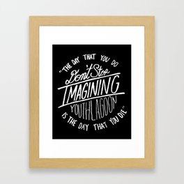 17 by Youth Lagoon Framed Art Print