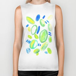 Creative Expression 16 | Abstract Shapes Drawing | Abstract Shapes Art| Watercolor Painting | Biker Tank