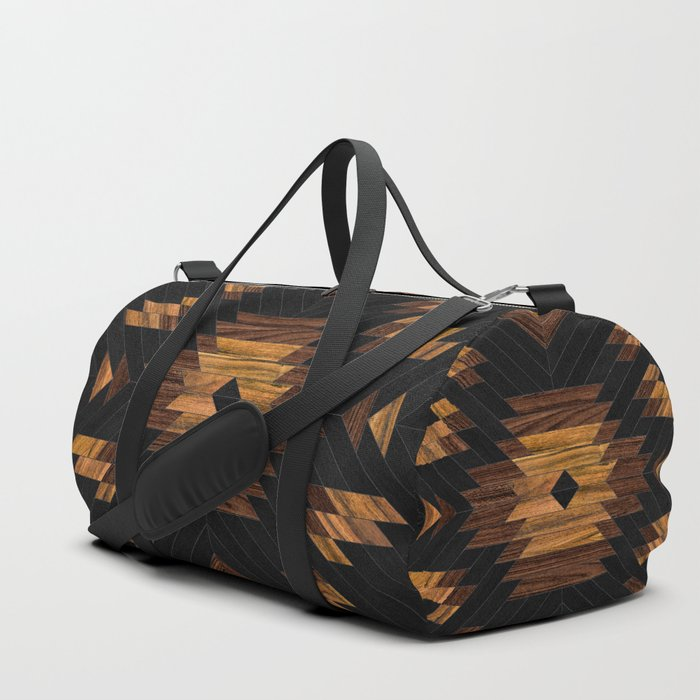 Urban Tribal Pattern No.7 - Aztec - Wood Duffle Bag