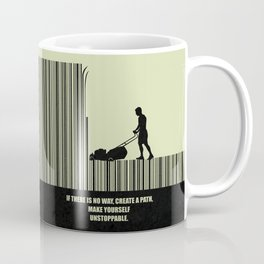 Lab No. 4 -If There Is No Way, Create A Path Corporate Start-Up Quotes Poster Coffee Mug