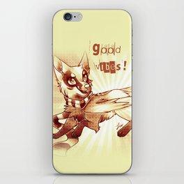 Fantasy fox iPhone Skin