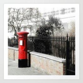 Waiting for the Postman Art Print