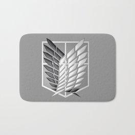 attack on Titan Logo Bath Mat