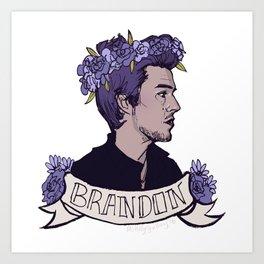 Brandon Art Print