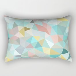 Pastel Tris Rectangular Pillow